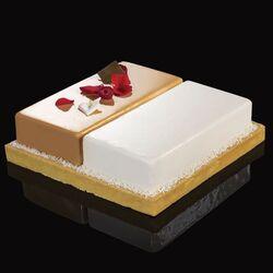 Cadre à pâtisserie modulable duo rectangle 22 cm