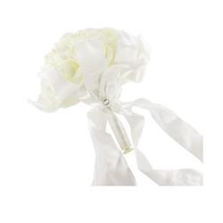 Bouquet mariée roses ivoire et perles
