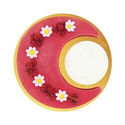 Cercle à pâtisserie modulable lune 22 cm