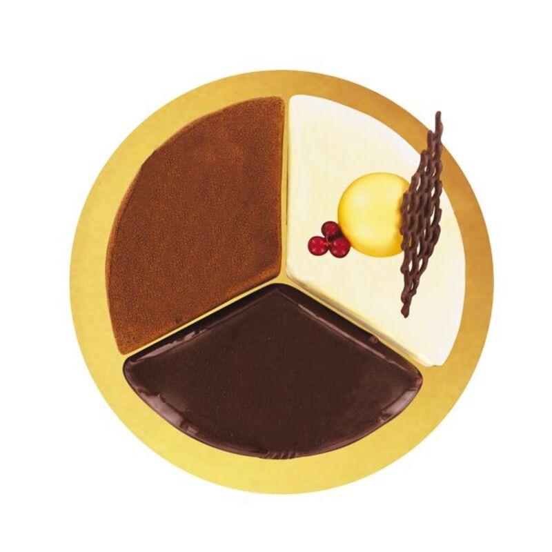 Cercle à patisserie modulable Trilogie 22 cm