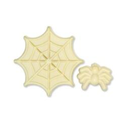 Forme modelage pop-it araignée et toile (x2)