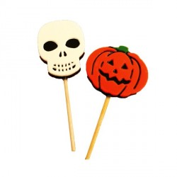 Moule sucette chocolat Halloween