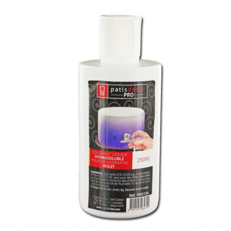 Colorant alimentaire Violet 250 ml