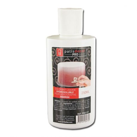 Colorant alimentaire Brun 250 ml