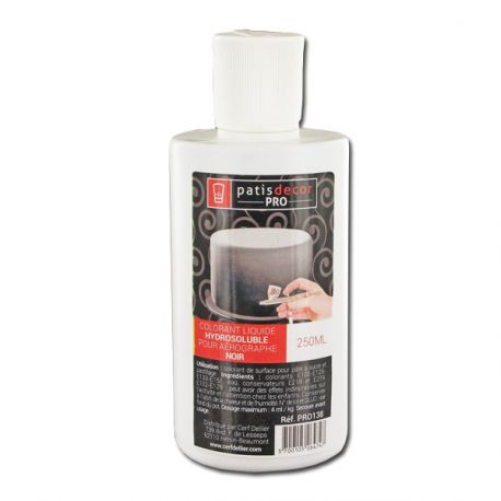 Colorant alimentaire Noir 250 ml