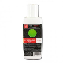 Colorant alimentaire liposoluble Vert 180 ml
