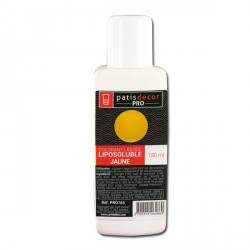 Colorant alimentaire liposoluble jaune 180 ml