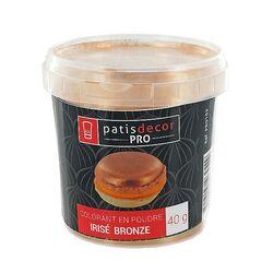 Colorant alimentaire poudre irisé Bronze 40 g