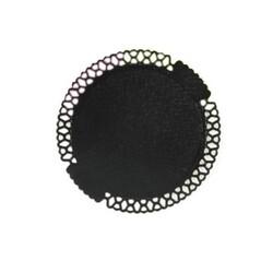 Dentelle carton noires 24 cm (x50)