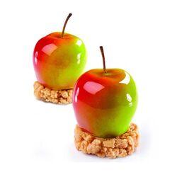 Moule silicone 3D pommes Pavoni