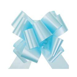 Grand noeud automatique uni bleu ciel (x10)