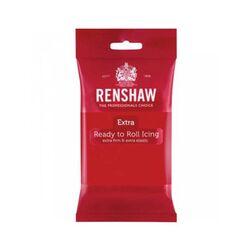 Pâte à sucre Renshaw Extra rouge 250 g