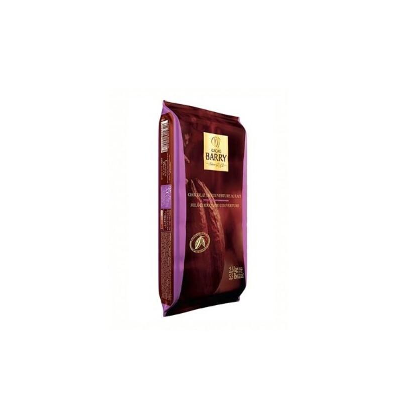 Chocolat de couverture lactée plaque 2,5 kg