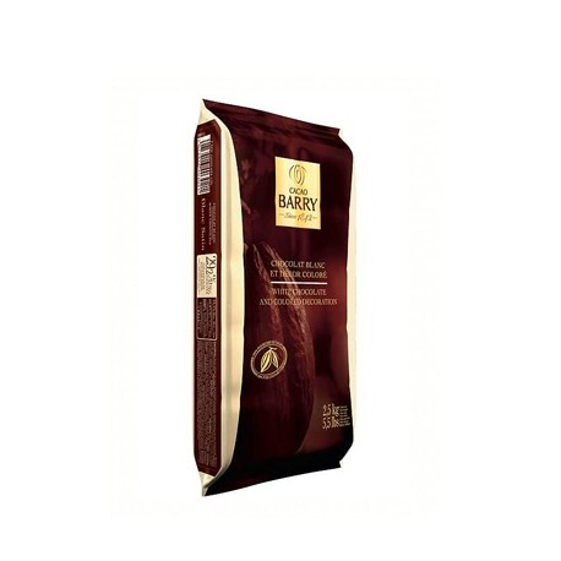 Chocolat de couverture Blanc Satin 2,5 kg