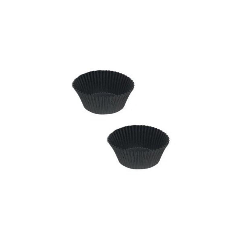 Caissettes cuisson Calypso noires n°10 bis (x1000)
