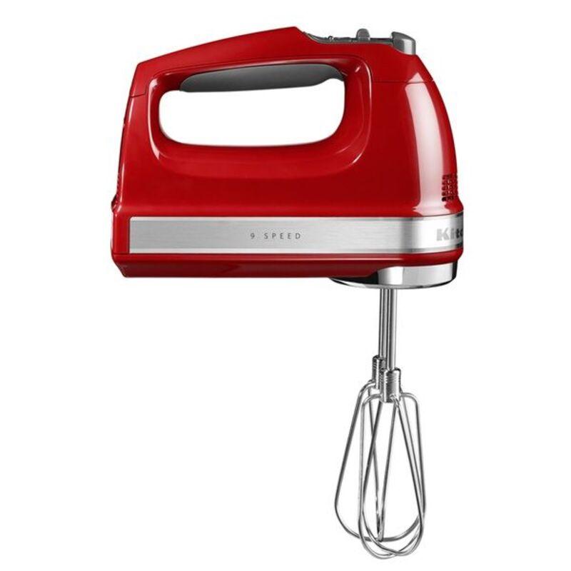 Batteur rouge 9 vitesses Kitchen Aid