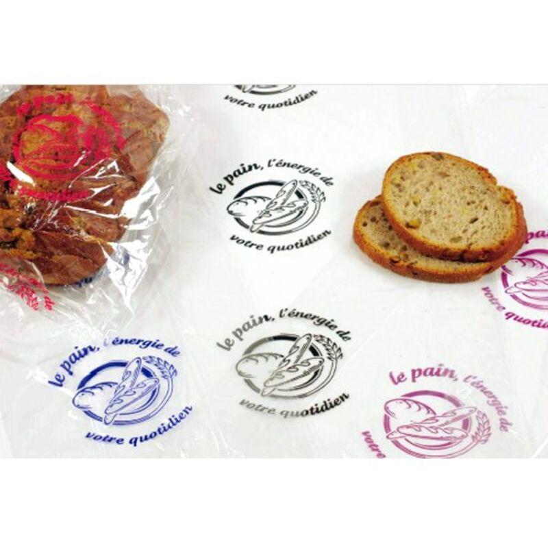 """Sac à pain réutilisable """"Le pain, l'énergie de votre quotidien"""" (x200)"""