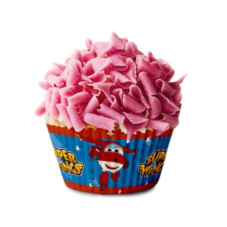Caissette cupcake Super Wings (x 50)