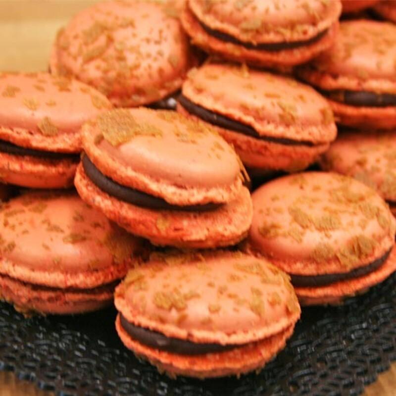 Pack ingrédients macarons chocolat gianduja