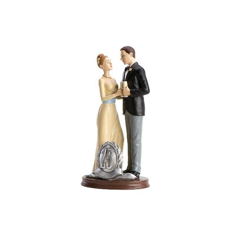 Couple de mariés Noces d'Argent