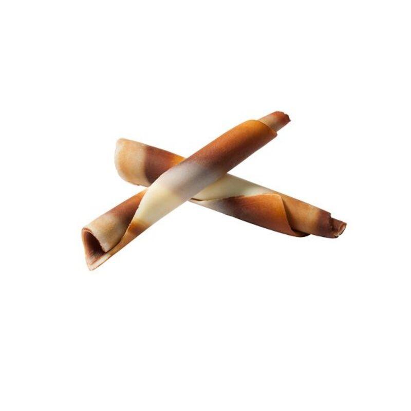 Mini bâtons de chocolat marbré Mona Lisa (± 400)