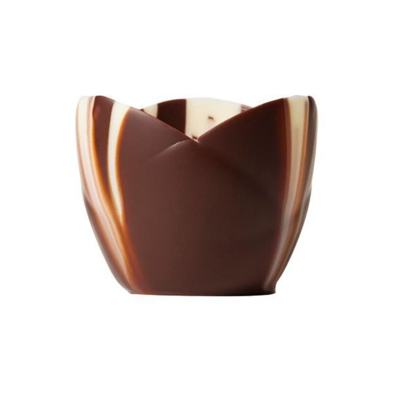 coupelle chocolat marbr crocus mona lisa cerf dellier. Black Bedroom Furniture Sets. Home Design Ideas