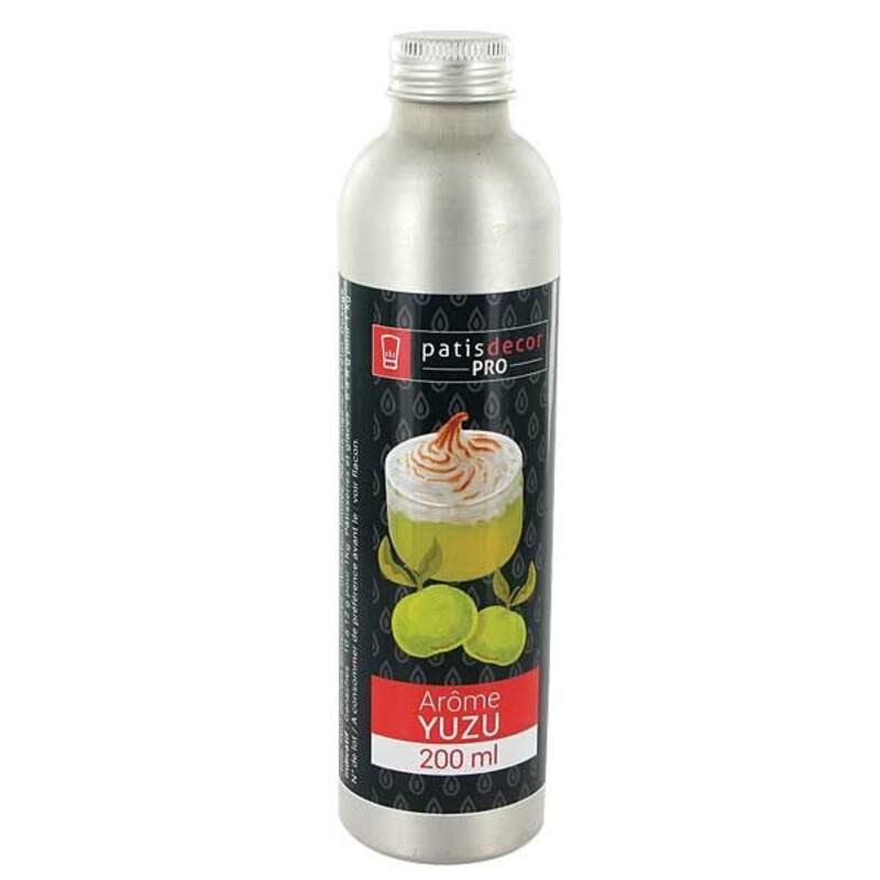 Arôme naturel Yuzu PatisdécorPro 200 ml