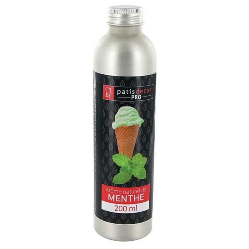 Arôme naturel Menthe Patisdécor Pro 200 ml
