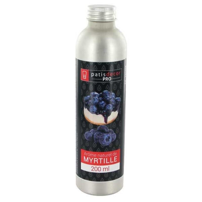 Arôme naturel Myrtille Patisdécor Pro 200 ml