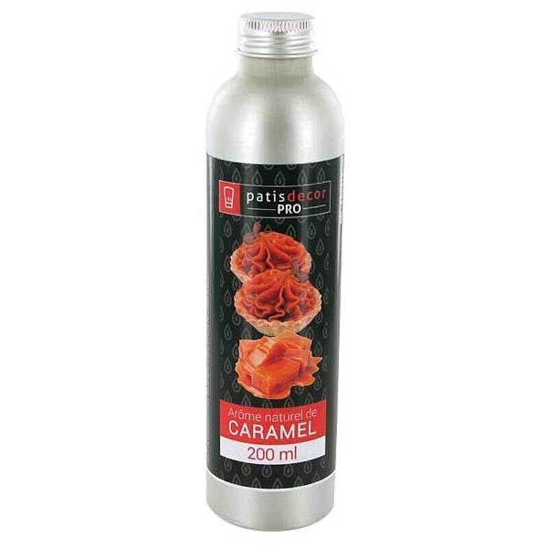 Arôme naturel Caramel Patisdécor Pro 200 ml