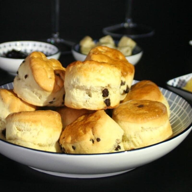 Pack ingrédients recette scones anglais au pépites de chocolat