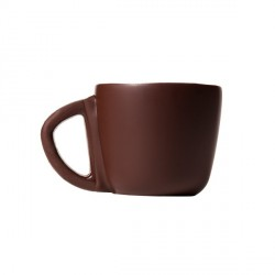 Mini tasse à café en chocolat noir (x15)