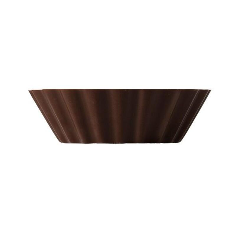 Coupelle tartelette chocolat noir (x90)