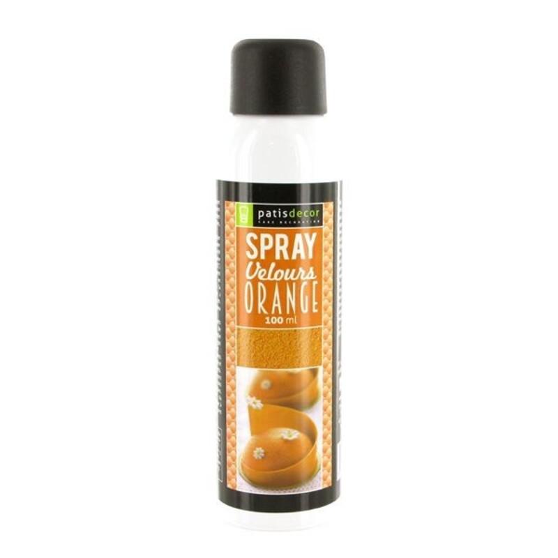 Spray Velours Orange Patisdécor 100 ml