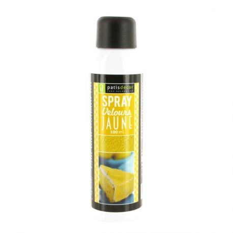 Spray Velours Jaune Patisdécor 100 ml