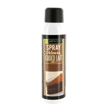 Spray Velours Chocolat au lait Patisdécor 100 ml