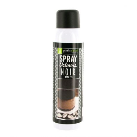 Spray Velours Noir Patisdécor 100 ml
