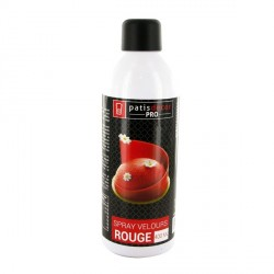 Spray effet velours Rouge 400 ml
