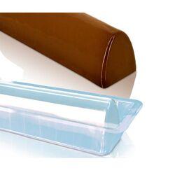 Gouttière à bûche arche en PVC (x12)