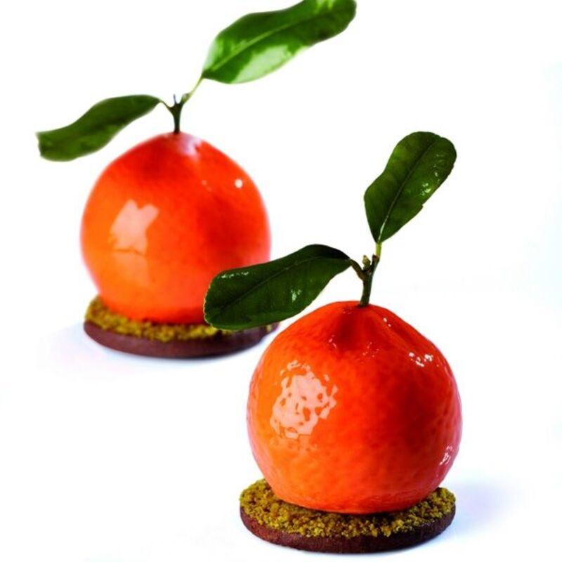 Moule silicone 3D mandarines