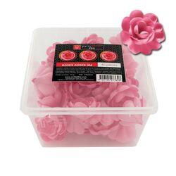 40 grandes roses roses en azyme Patisdécor Pro