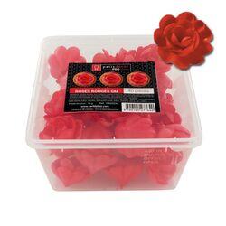 40 grandes roses rouges en azyme Patisdécor Pro