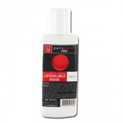 Colorant alimentaire liposoluble Rouge 180 ml