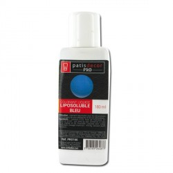 Colorant alimentaire liposoluble Bleu 180 ml