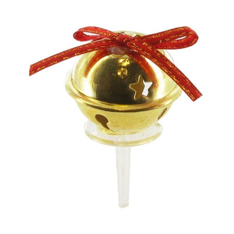Grelots dorés sur pique (x30)
