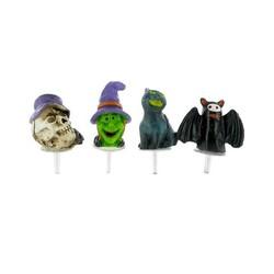 Décors d'Halloween assortis Patisdécor (x4)