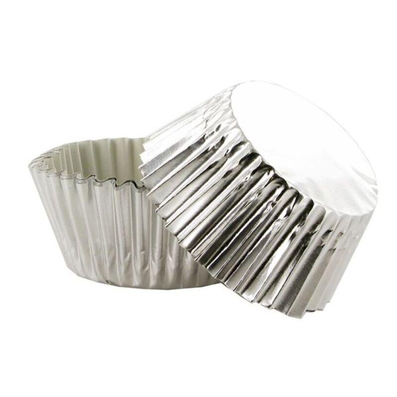 Caissette cupcake argentée (x50)
