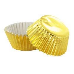 Caissette cupcake dorées (x50)