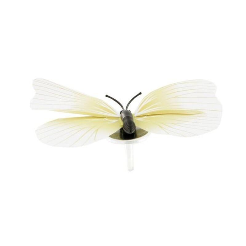 Papillons ivoires aimantés assortis (x3)