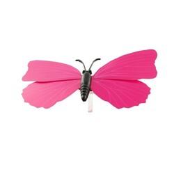 Papillons roses aimantés assortis (x3)